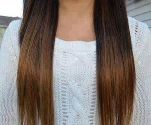 *-*, hair, and brown image