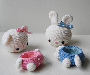 bear, bunny, and sweet image