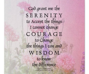 acceptance, strength, and wisdom image