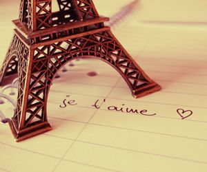 heart, paris, and I Love You image