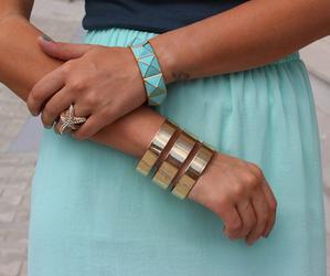 bracelets, fashion, and girl image