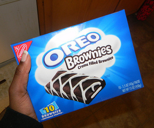oreo, photography, and brownie image