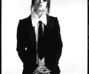 ellen page, black and white, and tie image