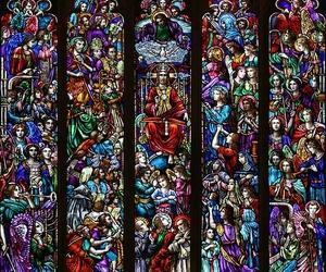 Catholic, jesus christ, and saints image