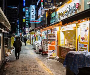 seoul, south korea, and winter image