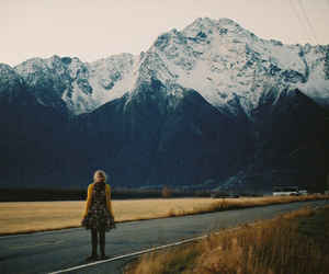mountains, photography, and indie image