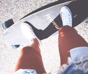 skate, fashion, and summer image