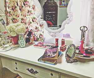 rooms, tumblr, and vanity image