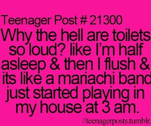 teenager post, funny, and loud image