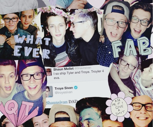 couple, troye sivan, and youtubers image