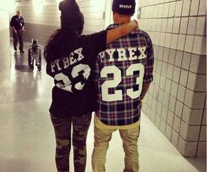 cute couple, tumblr, and swag boy image