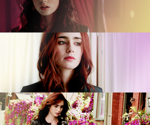 tmi, clary fray, and lily collins image