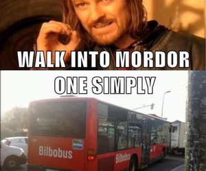 LOTR, funny, and quote image
