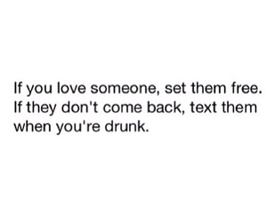 drunk, text, and love image