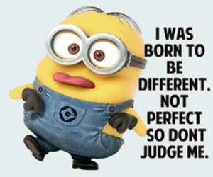minions, different, and perfect image