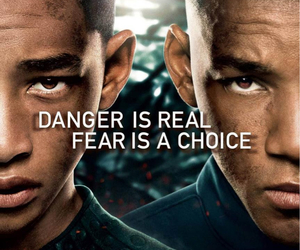 after earth, will smith, and jaden smith image