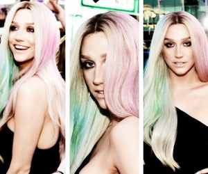 kesha, celebrity, and hair image