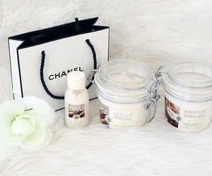 chanel, candle, and girly image