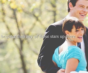 finchel, glee, and quote image