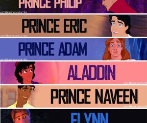 disney, prince, and aladdin image