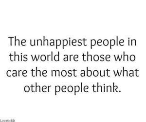 unhappy, quote, and true image