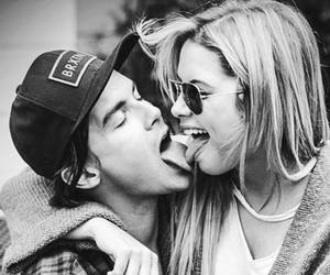 couple, kiss, and ashley benson image