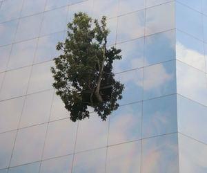 building, clouds, and imaginación image
