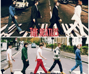 music, the beatles, and similarity image