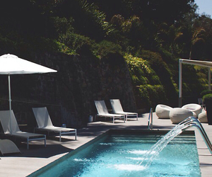 pool, summer, and luxury image