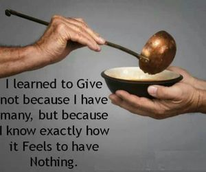 quote, give, and nothing image