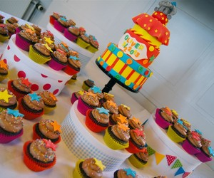 cake, circus, and colours image