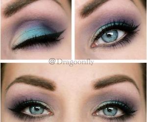 amazing, makeup, and pretty.eyeshadow image
