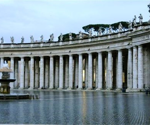 italy, columns, and rome image