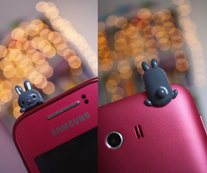 accesories, bunny, and camera image