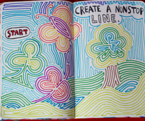 book, colorful, and creative image