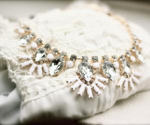 fashion, rhinestones, and white image