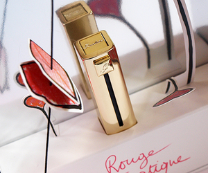 guerlain, lipstick, and red image