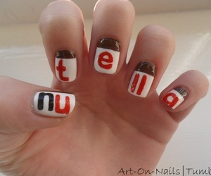 cool, nail, and nutela image