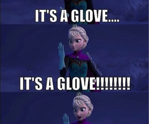 disney, funny, and glove image