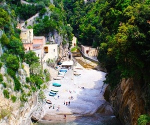 Amalfi, summer, and beach image