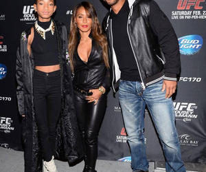 will smith, willow, and jada image