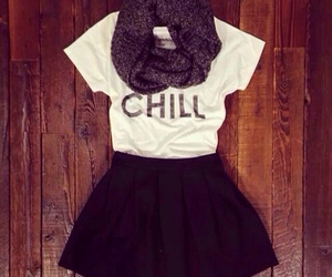 fashion, outfit, and chill image