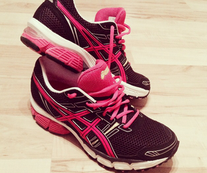 asics, fit, and girly image