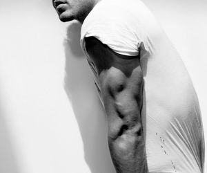 awesome, black and white, and kellan lutz image