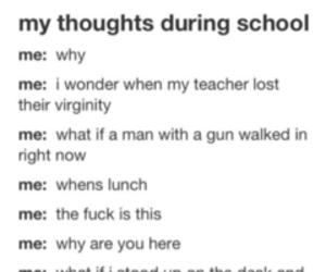 school and text image