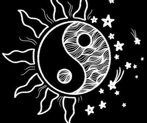 overlay, sun, and stars image