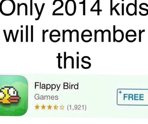 flappy bird, 2014, and game image