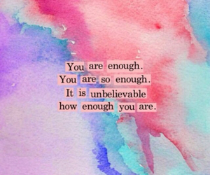 enough and quote image