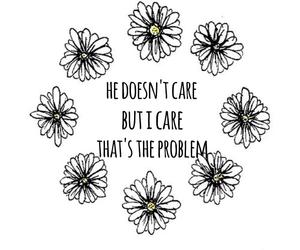 flowers, he, and sad image