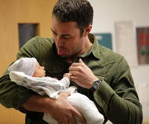 chicago fire, baby, and severide image